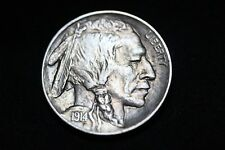 1914 D Buffalo Nickel PQ BU
