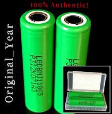 2 LG MJ1 18650 High Drain 3500mAh 10A Rechargeable Battery Free Case