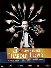 Affiche Pliée 120x160cm 3 (MÉS)AVENTURES D'HAROLD LLOYD (2008) Hal Roach TBE