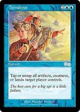 TURNABOUT Urza's Saga MTG Blue Instant Unc