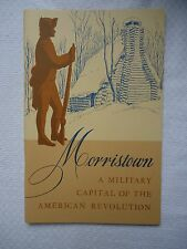 Morristown NJ New Jersey A military Capitol American Revolution Softcover Book