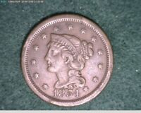 1854 Large Cent Braided Head ( 61-194 7m/o )