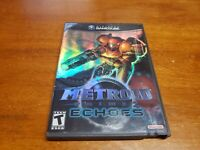 Metroid Prime 2: Echoes (Nintendo GameCube, 2004) TESTED Fast Shipping