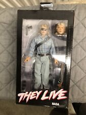 NECA They Live - John Nada (8 inch) (Clothed) Action Figure - Read Description