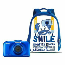 S 0019 0764392 734791 Nikon Coolpix W150 Waterproof Digital Camera with Backpack