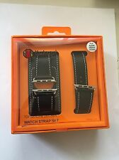 Apple Watch Black Leather Armband 42mm 3 In 1