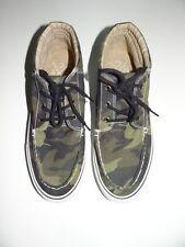 Aeropostale Men's Army Green Canvas Camo Lace Shoes Size 9 Sale