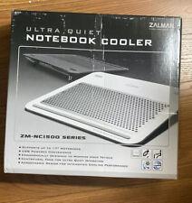 Macbook Pro Cooler Zalman NC1500-B Laptop Cooling with Aluminum (NC1500-W)