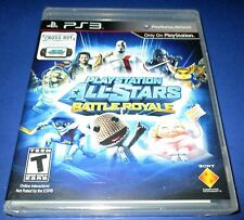 PlayStation All-Stars Battle Royale Sony PlayStation 3 New! Free Shipping!