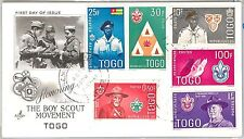 BOY SCOUTS --- TOGO  -  POSTAL HISTORY - FDC COVER 1961