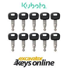10 Kubota 459a Key Kubota Excavator