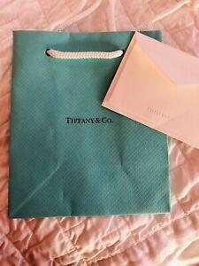 Tiffany & Co Bag and Notecard