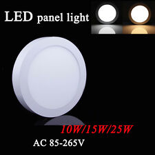 Dimmable Surface Mounted LED Panel Light Ceiling Down Lamp 10/25/30W Cool White