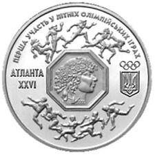 UKRAINE - UCRAINA 200000 karbovanets Summer Olympic Games in Atlanta USA 1996