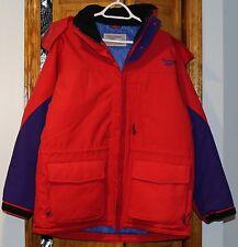 "Used Men's Reebok Vintage Winter Coat 1996 "" Free Shipping """