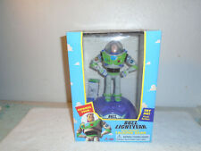 Vintage 1995 Toy Story Buzz Lightyear Electronic Talking Bank NEW Thinkway Toys