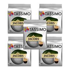 5 x Packs Tassimo Jacobs Espresso Ristretto T Discs Pods - 80 T Discs 80 Drinks