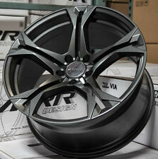 "20"" MRR M017 Matte Graphite Wheels Fit Chevy Camaro 2010 - 2016 1LE 2LE SS Rims"