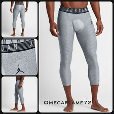 Nike Jordan Alpha Ele Pro Hyper cool 3/4 Training Tights ,Sz MEDIUM 833720-012
