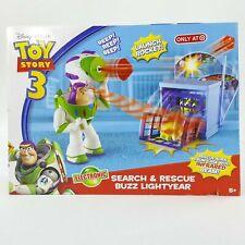 Disney Pixar Toy Story 3 Search & Rescue Buzz Lightyear Electronic Launch Rocket