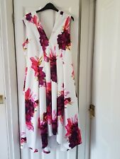 Coast Blossom Printed Midi Dress Size 16