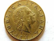 1978 Italy Two Hundred (200) Lire Coin