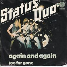 7inch STATUS QUO again and again HOLLAND 1978 EX (S3268)
