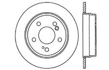 Centric Parts 121.35014 Rear Disc Brake Rotor
