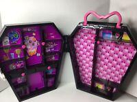 Monster High Draculocker Draculaura Doll Coffin Locker Carrying Case 2013