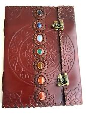 Leather Chakra Journal