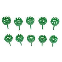 10pcs Plastic Organic Fertilizer Basket Fertilizer Dome Case Box for Orchid