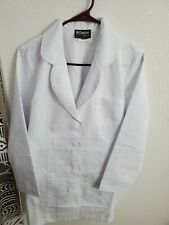 """Grey's Anatomy Women's 4481 3 Pocket Lab Coat Size M(38""""Bust/32""""W/ 34""""L) White"""