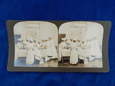 STEREOVIEW - H.C. WHITE CO - 8361 MILITARY RESERVE HOPITAL HIROSHIMA - TOP !