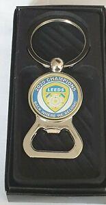 Leeds Champions 2020 Bottle Opener Keyring for Leeds United Fans