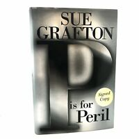 1st Edition/1st Printing SIGNED Fine/Fine P is For Peril Sue Grafton
