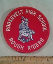 """Roosevelt High School Rough Riders Patch 4"""""""