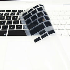 """FULL BLACK Silicone Keyboard Skin Cover  for Old Macbook White 13"""" (A1181)"""