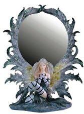 10 Inch Nymph Fairy Mirror Figurine Figure Fairies Magic Statue Collectible