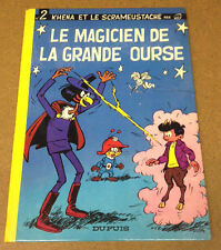 KHENA ET LE SCRAMEUSTACHE - N°2. EDITION ORIGINALE (TRÈS BON ETAT) !