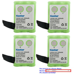 Kastar Ni-MH Battery Replace for Clarity Professional C4230 Cordless Phone