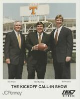 BOB KESLING + TIM PRIEST + JEFF FRANCIS Tennessee Vols Call-In Show Promo Card