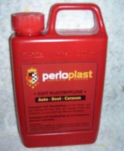 2 x Perloplast Soft Kunststoffpflege Cockpitpflege a 500 ml = 1 Ltr. 23,00 €.