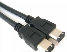 6FT FIREWIRE CABLE 6 PIN to 6 PIN IEEE1394 iLINK 6FT PC MAC DV 6P-6P 6-6 PINS
