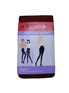 "NEW SPANX Tight End Tights Original Size B 4'10""-5'9"" 115-150lbs Craisin"