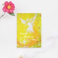 """Genesungskarte """"Lass die Sonne in Dein Herz"""" Beste Wünsche Grusskarte, Postkarte"""