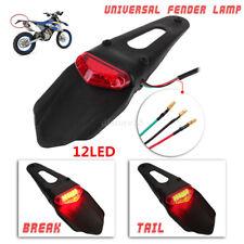 moto universel LED Feu arrière Garde-Boue ENDURO stop lampe CRF KTM sauf haut