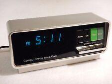 Compu Chron Digital Alarm Clock with Snooze CompuChron Vintage Model 5920