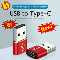 USB 3.0 Type A Male to USB 3.1 Type C Female Connector Converter Adapter L3A3