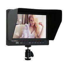 7' Aluminium HD Kamera Monitor Support 4K UHD HDMI Eingang mit Doppelt Ball Kopf