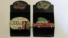 Disney Auctions 2005 Home For The Holidays / Fab. 4 Pin SET- BOTH Pins LE of 100
